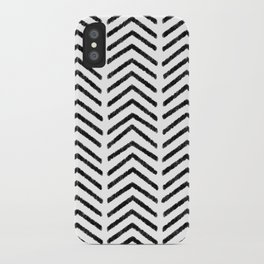 Graphic_Black&White #4 iPhone Case