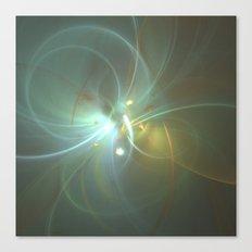 Holiday Glow Fractal Canvas Print