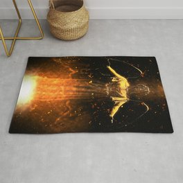 Rise From the Flames Rug