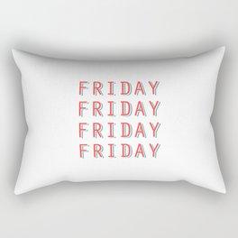 Fri-nally Friday Rectangular Pillow