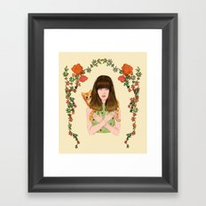Chiquitita Framed Art Print
