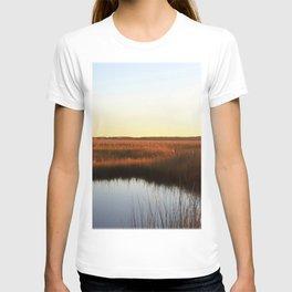 Watercolor Sunset, Janes Island 03, Maryland T-shirt