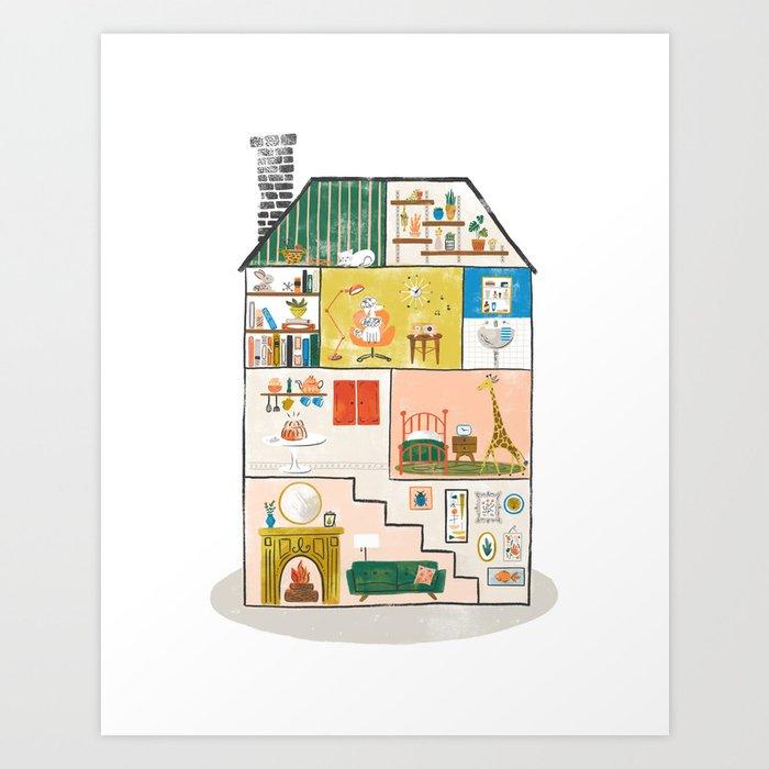 Doll House Art Print