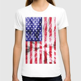 American Flag Extrude T-shirt