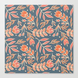 Loquacious Floral Canvas Print