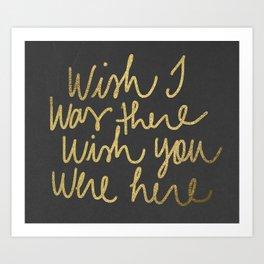 wish 2 Art Print