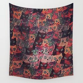 cats new color popularity-200 Wall Tapestry