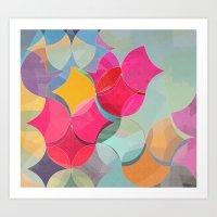 fifth harmony Art Prints featuring HARMONY by Julia Tomova