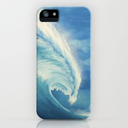 Kanagawa revisited iPhone Case