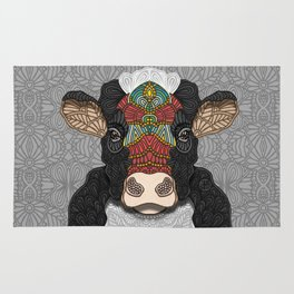 Bella the cow Rug