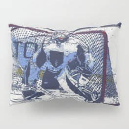 The Goal Keeper - Ice Hockey Pillow Sham