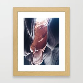 Painted Canyons Framed Art Print