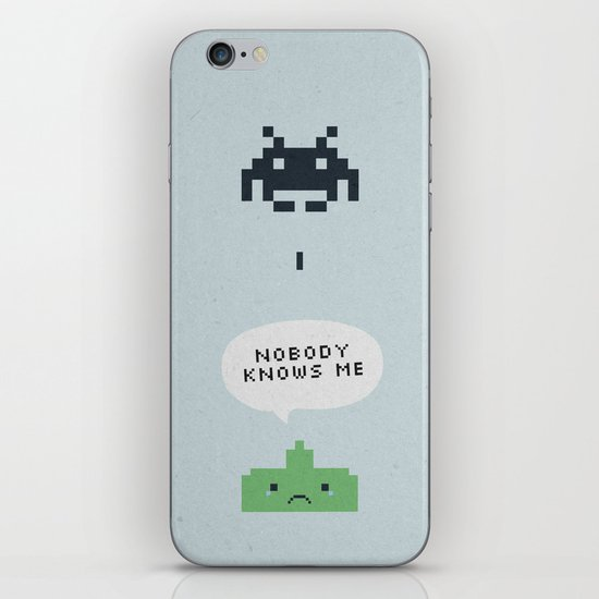 nobody knows iPhone Skin