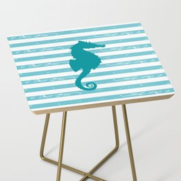 AFE Turquoise Seahorse Side Table