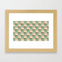Wild Tiled Framed Art Print