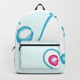 Blue Boo-dle Ghost Backpack