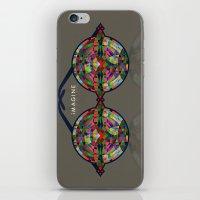 imagine iPhone & iPod Skins featuring iMAGINE by Deepti Munshaw