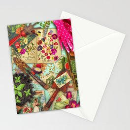A Vintage Garden Stationery Cards