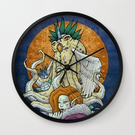 Esmerelda & The Angel Octopus Wall Clock