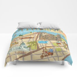 Cuba Comforters