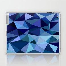 Blue triangles Laptop & iPad Skin