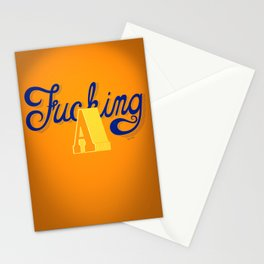 Fucking A Stationery Cards