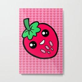 Strawberry Fields Metal Print