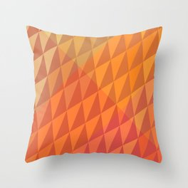 Pumpkin Crystals Throw Pillow