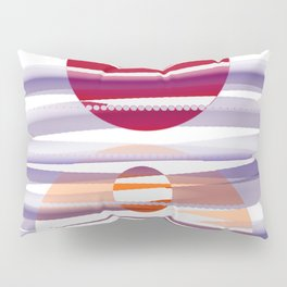 Abstract transparencies Pillow Sham