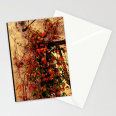 Old Abandoned Building And Flowers In Kentucky Stationery Cards