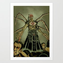 The Great Devourer Art Print