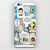 gta iPhone & iPod Skins featuring GTA - Comic strip by Azlee Mahat