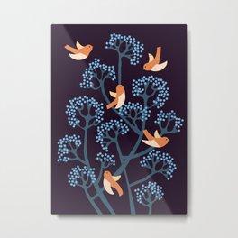 Birds Are singing Metal Print
