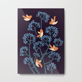 Birds Are singing Metal Print