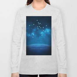 Sagittarius: Astrological Art Long Sleeve T-shirt