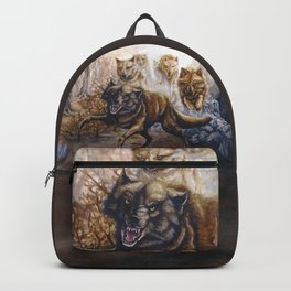 Pack of Wolves Backpack