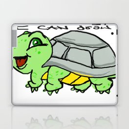 childish turtle  Laptop & iPad Skin