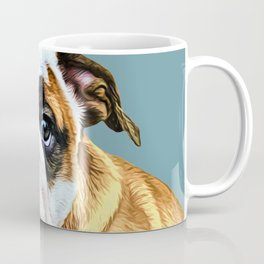 English bulldog puppy pop art Coffee Mug