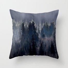 Forest blend Throw Pillow