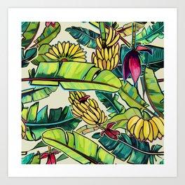 Local Bananas Art Print