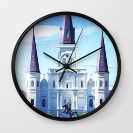 Jackson Square Wall Clock