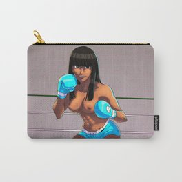 Boxer Girl Carry-All Pouch