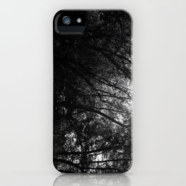 Tangled Up Tree Branches iPhone Case