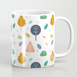 Minimal Tree Pattern Coffee Mug