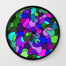 Dragon Glass Wall Clock