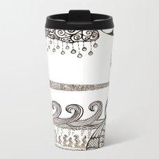Washed Away Metal Travel Mug