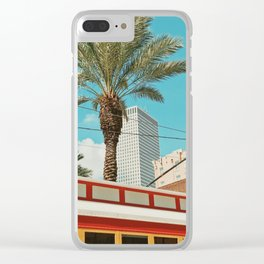 Downtown New Orleans Clear iPhone Case