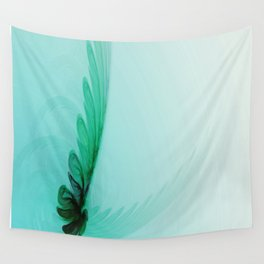 With Brave Wings She Flies Wall Tapestry