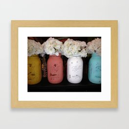 jar mason Framed Art Print