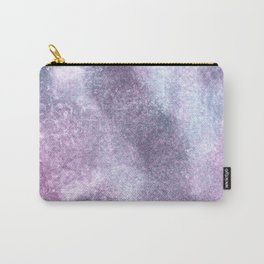 Purple Blue Abstract Watercolor Painting For Her Carry-All Pouch